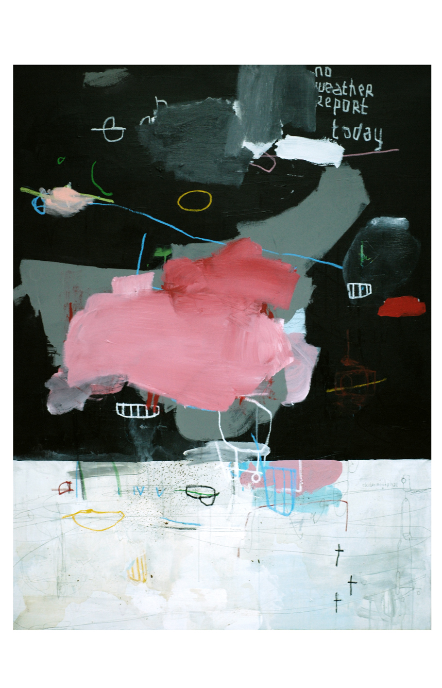 acrylic and more on canvas 146 x 114 cm _ 57 x 44 inches
