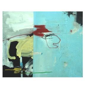 acrylic, pens, pastel, spray and tea on canvas _ 49 x 60 cm