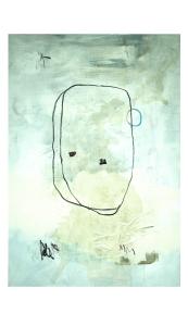 acrylic, pens, pastel, spray and tea on canvas _ 89 x 116 cm